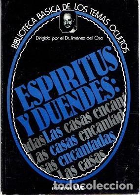 ESPÍRITUS Y DUENDES: LAS CASAS ENCANTADAS. BIBLIOTECA BÁSICA DE LOS TEMAS OCULTOS VOL 22 (Libros de Segunda Mano - Parapsicología y Esoterismo - Otros)