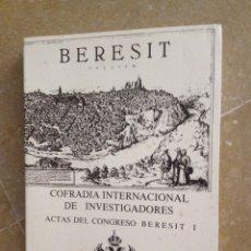 Libros de segunda mano: BERESIT. ACTAS DEL CONGRESO BERESIT I (TOMO II, 1991). Lote 126873723