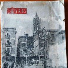 Libros de segunda mano: URBS - REUS- 1957. NÚMERO ESPECIAL SOBRE LA FIESTA MAYOR Y LA TRONADA. Lote 126892647