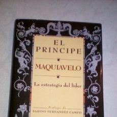 Libros de segunda mano: EL PRÍNCIPE - MAQUIAVELO. Lote 127005895