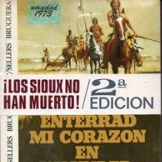 Libros de segunda mano: DEE BROWN : ENTERRAD MI CORAZÓN EN WOUNDED KNEE (BRUGUERA, 1973) TAPA DURA. Lote 127017403
