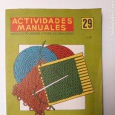 Libros de segunda mano - Artesanía manualidades . Actividades manuales 29 rafia modelos de labores y trabajos educativos - 126974398