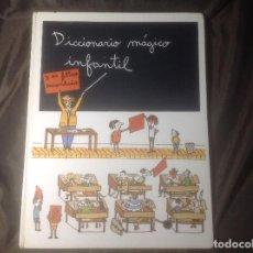 Libros de segunda mano: DICCIONARIO MÁGICO INFANTIL Y SU FILTRO ENCANTADO 1989 EDICIONES MASPA. Lote 127211387