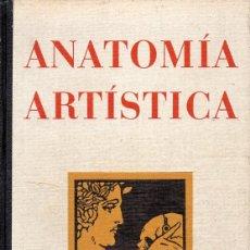 Libros de segunda mano: FRIPP THOMPSON : ANATOMÍA ARTÍSTICA (GILI, 1945). Lote 127233995