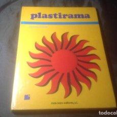 Libros de segunda mano: PLASTIRAMA FRANÇOIS CHERRIER MAS-IVANS EDITORES 1973 FORRADO. Lote 127240575