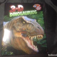 Libros de segunda mano: DINOSAURIOS 3D 2010 MEDIA LIVE CON DOS GAFAS 3D. Lote 127244575