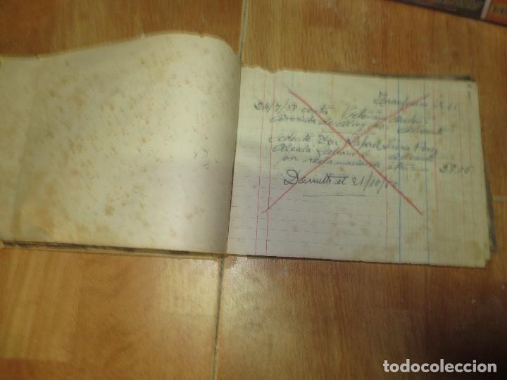 Libros de segunda mano: ANTIGUO LIBRO MANUSCRITO DE ALICANTE 160 PGS AGENCIA ALICANTINA - Foto 5 - 146598174
