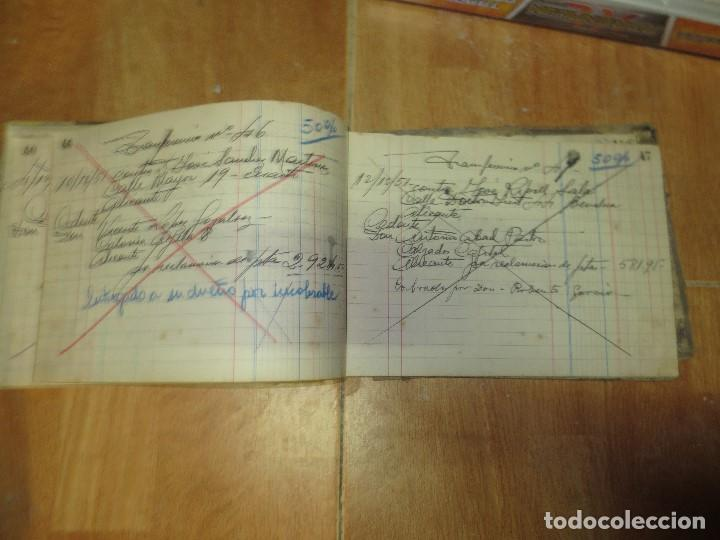 Libros de segunda mano: ANTIGUO LIBRO MANUSCRITO DE ALICANTE 160 PGS AGENCIA ALICANTINA - Foto 7 - 146598174