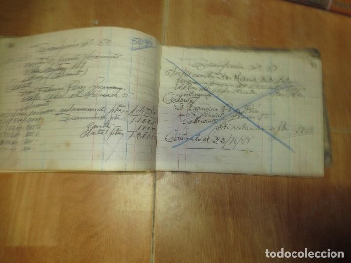 Libros de segunda mano: ANTIGUO LIBRO MANUSCRITO DE ALICANTE 160 PGS AGENCIA ALICANTINA - Foto 8 - 146598174