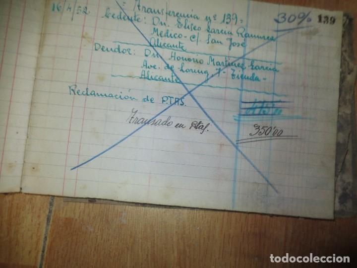 Libros de segunda mano: ANTIGUO LIBRO MANUSCRITO DE ALICANTE 160 PGS AGENCIA ALICANTINA - Foto 9 - 146598174