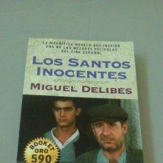 Libros de segunda mano: LOS SANTOS INOCENTES.- MIGUEL DELIBES. Lote 127292387