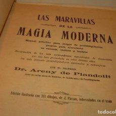 Libros de segunda mano: LAS MARAVILLAS DE LA MAGIA MODERNA..AÑOS 20-30...CON INFINIDAD DE GRABADOS.. Lote 127452575