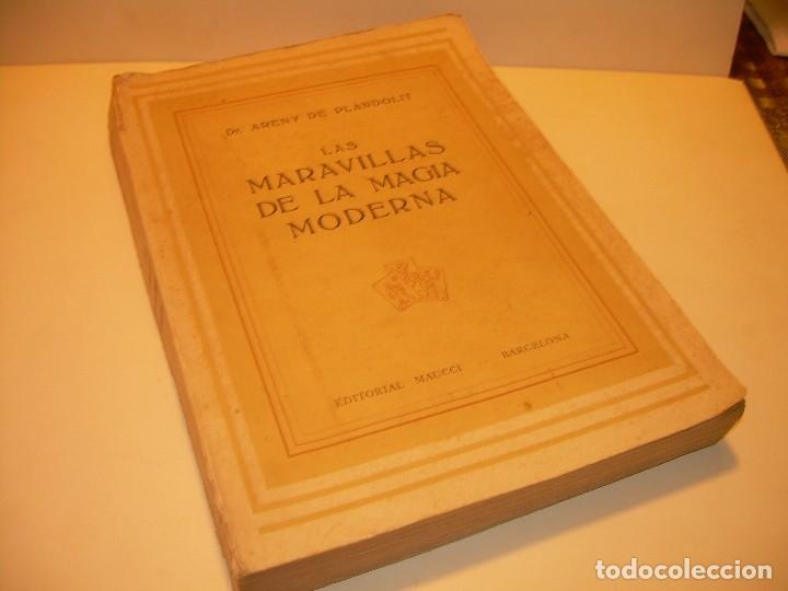 Libros de segunda mano: LAS MARAVILLAS DE LA MAGIA MODERNA..AÑOS 20-30...CON INFINIDAD DE GRABADOS. - Foto 2 - 127452575