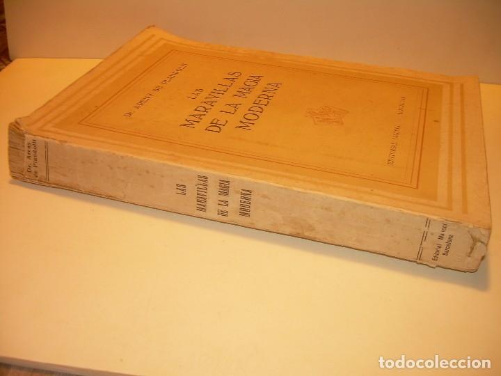 Libros de segunda mano: LAS MARAVILLAS DE LA MAGIA MODERNA..AÑOS 20-30...CON INFINIDAD DE GRABADOS. - Foto 3 - 127452575