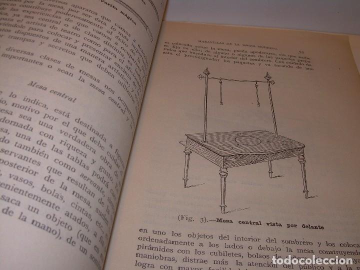 Libros de segunda mano: LAS MARAVILLAS DE LA MAGIA MODERNA..AÑOS 20-30...CON INFINIDAD DE GRABADOS. - Foto 12 - 127452575