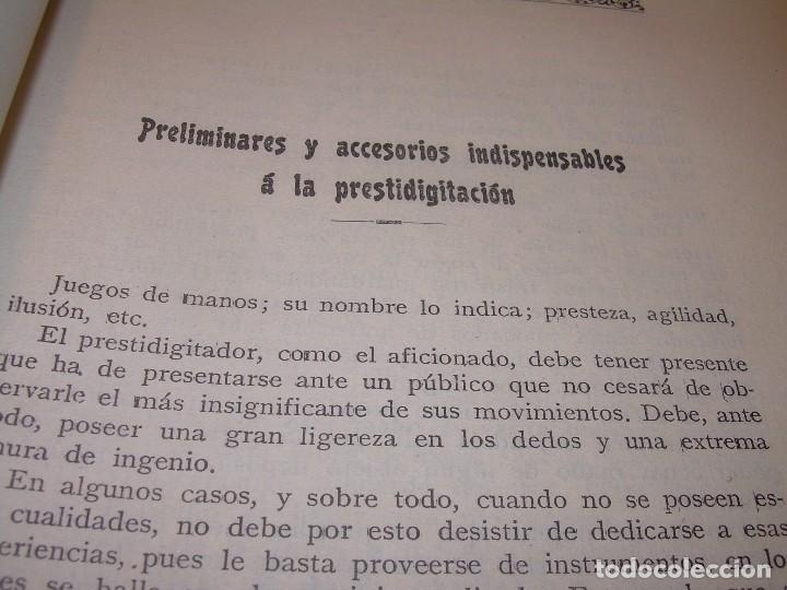Libros de segunda mano: LAS MARAVILLAS DE LA MAGIA MODERNA..AÑOS 20-30...CON INFINIDAD DE GRABADOS. - Foto 13 - 127452575
