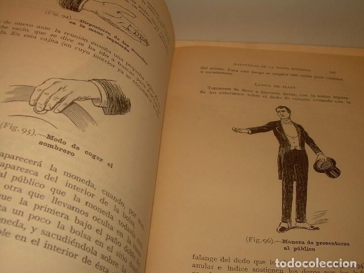 Libros de segunda mano: LAS MARAVILLAS DE LA MAGIA MODERNA..AÑOS 20-30...CON INFINIDAD DE GRABADOS. - Foto 14 - 127452575