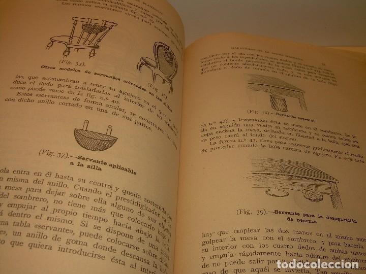 Libros de segunda mano: LAS MARAVILLAS DE LA MAGIA MODERNA..AÑOS 20-30...CON INFINIDAD DE GRABADOS. - Foto 16 - 127452575