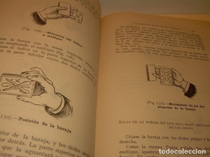 Libros de segunda mano: LAS MARAVILLAS DE LA MAGIA MODERNA..AÑOS 20-30...CON INFINIDAD DE GRABADOS. - Foto 17 - 127452575