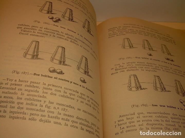 Libros de segunda mano: LAS MARAVILLAS DE LA MAGIA MODERNA..AÑOS 20-30...CON INFINIDAD DE GRABADOS. - Foto 19 - 127452575