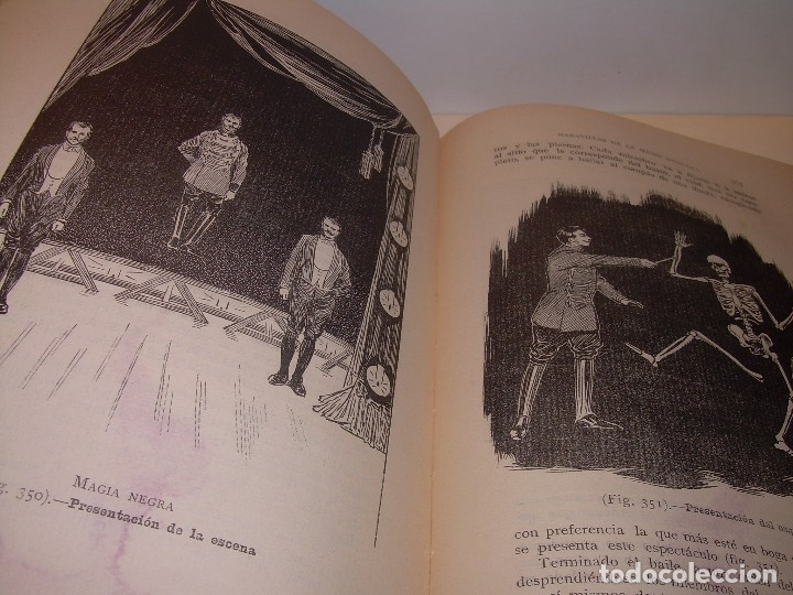 Libros de segunda mano: LAS MARAVILLAS DE LA MAGIA MODERNA..AÑOS 20-30...CON INFINIDAD DE GRABADOS. - Foto 20 - 127452575