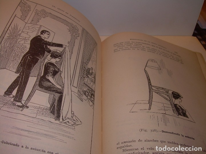 Libros de segunda mano: LAS MARAVILLAS DE LA MAGIA MODERNA..AÑOS 20-30...CON INFINIDAD DE GRABADOS. - Foto 21 - 127452575