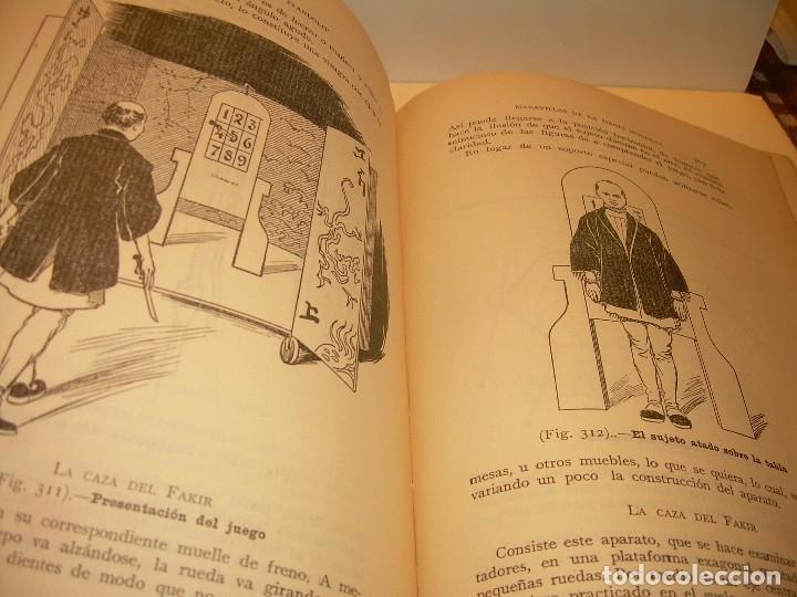 Libros de segunda mano: LAS MARAVILLAS DE LA MAGIA MODERNA..AÑOS 20-30...CON INFINIDAD DE GRABADOS. - Foto 22 - 127452575