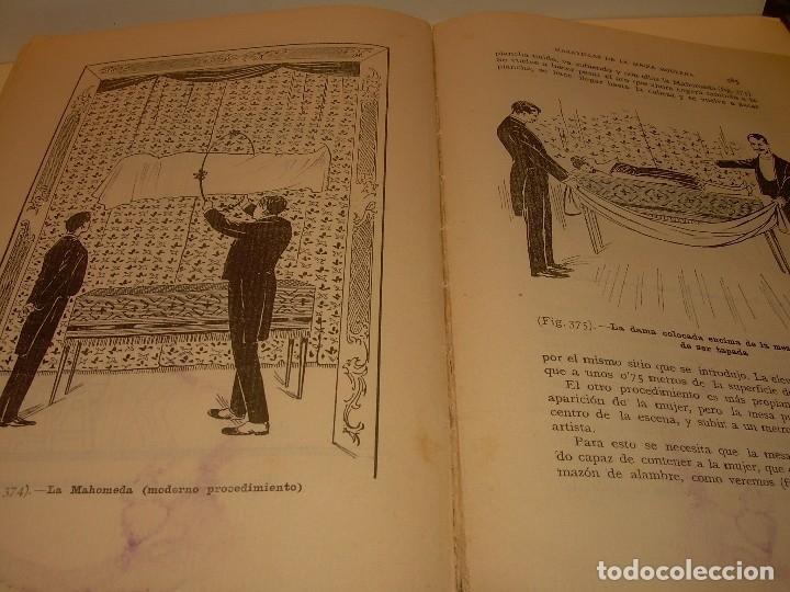 Libros de segunda mano: LAS MARAVILLAS DE LA MAGIA MODERNA..AÑOS 20-30...CON INFINIDAD DE GRABADOS. - Foto 23 - 127452575