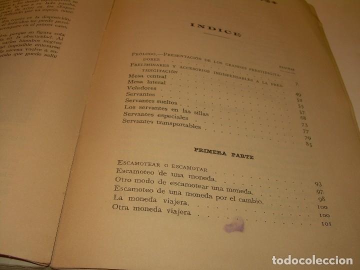 Libros de segunda mano: LAS MARAVILLAS DE LA MAGIA MODERNA..AÑOS 20-30...CON INFINIDAD DE GRABADOS. - Foto 26 - 127452575