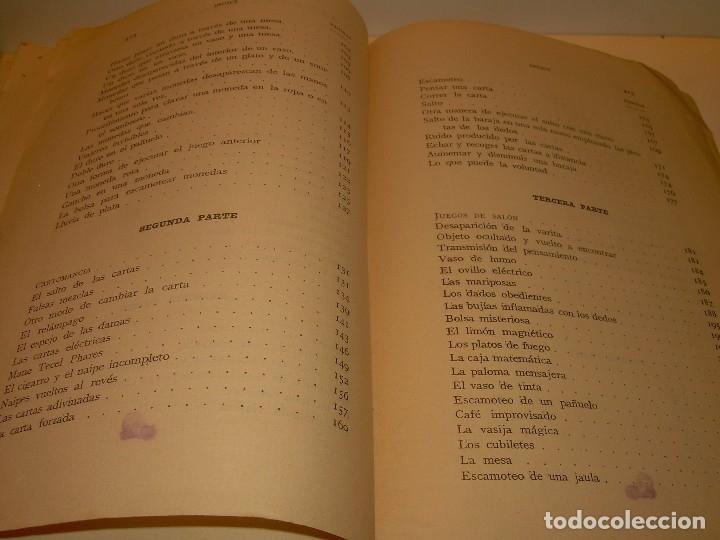 Libros de segunda mano: LAS MARAVILLAS DE LA MAGIA MODERNA..AÑOS 20-30...CON INFINIDAD DE GRABADOS. - Foto 27 - 127452575