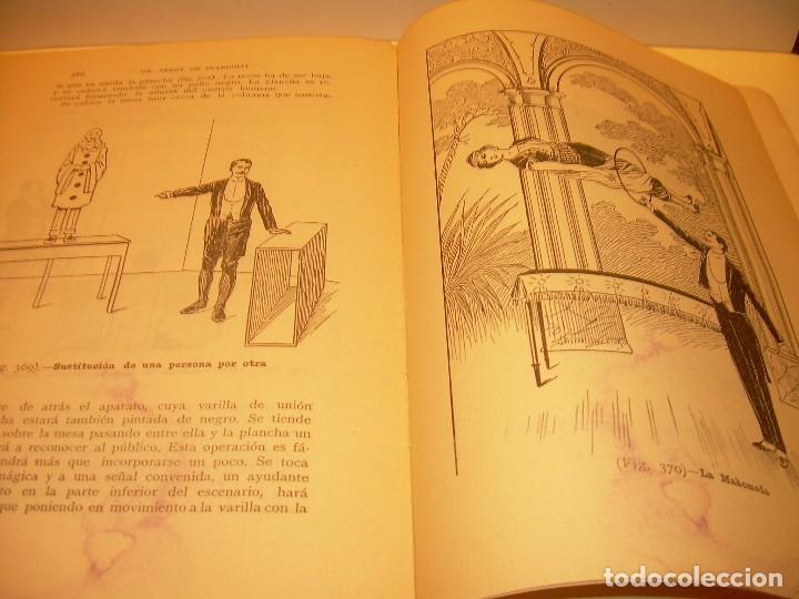 Libros de segunda mano: LAS MARAVILLAS DE LA MAGIA MODERNA..AÑOS 20-30...CON INFINIDAD DE GRABADOS. - Foto 29 - 127452575