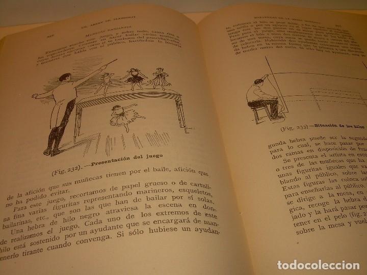 Libros de segunda mano: LAS MARAVILLAS DE LA MAGIA MODERNA..AÑOS 20-30...CON INFINIDAD DE GRABADOS. - Foto 31 - 127452575