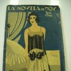 Libros de segunda mano: LA NOVELA DE HOY DEVORADORA AÑO 1943. Lote 127467267