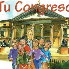 Libros de segunda mano: EL CONGRESO DE LOS DIPUTADOS. TU CONGRESO. COMIC. Lote 120844223