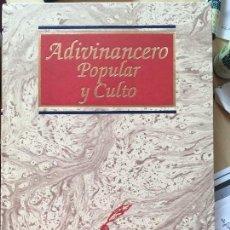Libros de segunda mano: ADIVINANCERO POPULAR Y CULTO - JOSE L. GARFER - EDI EDIMAT -2000. Lote 127482235