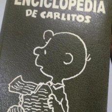 Libros de segunda mano: ENCICLOPEDIA DE CARLITOS - CHARLIE BROWN - SNOOPY - 1992 ED JUNIOR. Lote 127488491
