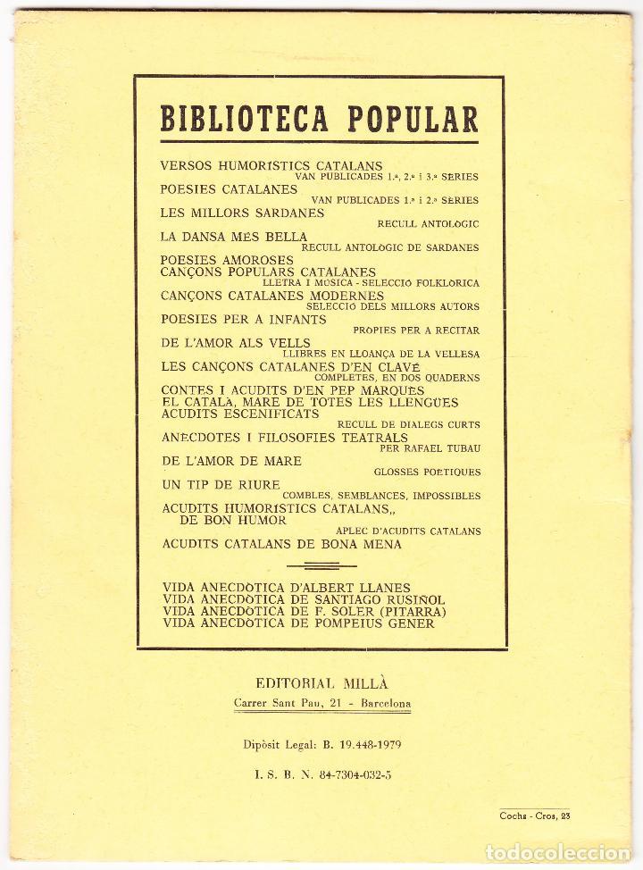 Libros de segunda mano: EL CATALA MARE DE TOTES LES LLENGUES - 1979 - HUMORADA FONETICA - Foto 3 - 127488899