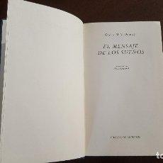 Libros de segunda mano: EL MENSAJE DE LOS SUEÑOS. Lote 127523479