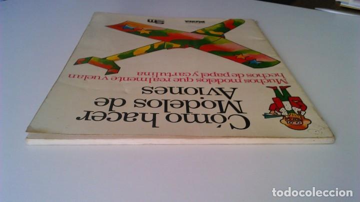 Libros de segunda mano: Cómo hacer modelos de aviones - 2 ejemplares - Fotos adicionales - Foto 4 - 127562619