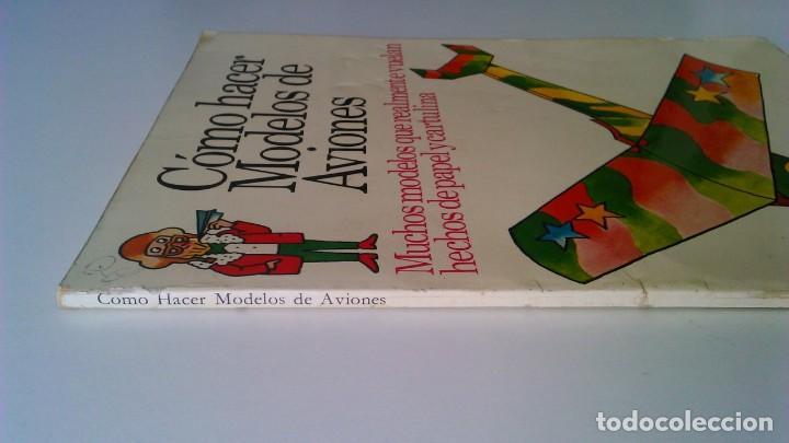 Libros de segunda mano: Cómo hacer modelos de aviones - 2 ejemplares - Fotos adicionales - Foto 5 - 127562619