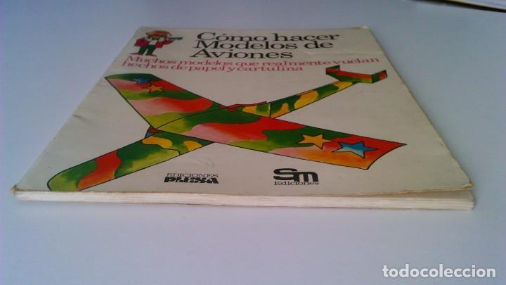 Libros de segunda mano: Cómo hacer modelos de aviones - 2 ejemplares - Fotos adicionales - Foto 7 - 127562619