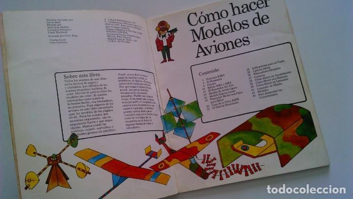 Libros de segunda mano: Cómo hacer modelos de aviones - 2 ejemplares - Fotos adicionales - Foto 14 - 127562619