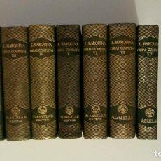 Libros de segunda mano: JOYA, MARQUINA, 8 TOMOS, AGUILAR. Lote 127575003