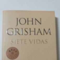 Libros de segunda mano: SIETE VIDAS. JONH GRISHAM.2011. Lote 127594478