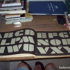 Libros de segunda mano: ALFABETOS PARA PUBLICIDAD Y ARTES GRÁFICAS. NERDINGER / BECK. GUSTAVO GILI. 1965. BUSCADÍSIMO!!!!!!. Lote 127643011