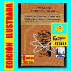 Libros de segunda mano: TIERRA SIN TIEMPO - PETER KOLOSIMO - PLAZA & JANES - ENIGMAS MISTERIOS ANTIGUOS ASTRONAUTAS. Lote 127644007