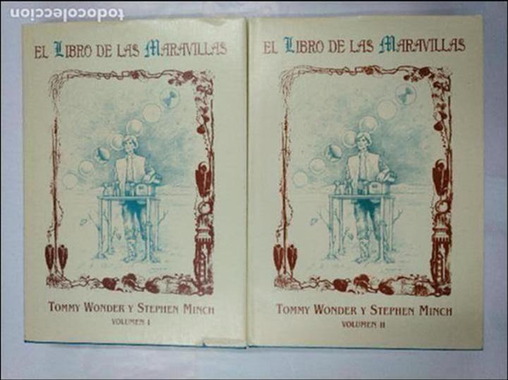 EL LIBRO DE LAS MARAVILLAS. TOMMY WONDER, STEPHEN MINCH. VOLUMEN 1 Y 2. DOS TOMOS. TDK224 (Libros de Segunda Mano - Parapsicología y Esoterismo - Otros)
