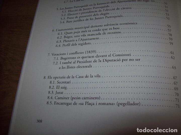 Libros de segunda mano: BÚGER EN EL SEGLE XIX. JOAN PONS. AJUNTAMENT DE BURGOS.LLEONARD MUNTANER. 1ª EDICIÓ 2012 . MALLORCA. - Foto 20 - 127686951