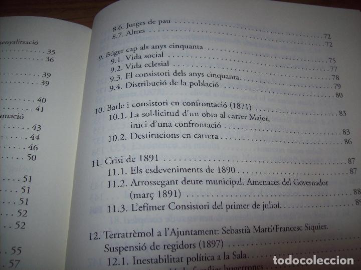 Libros de segunda mano: BÚGER EN EL SEGLE XIX. JOAN PONS. AJUNTAMENT DE BURGOS.LLEONARD MUNTANER. 1ª EDICIÓ 2012 . MALLORCA. - Foto 21 - 127686951