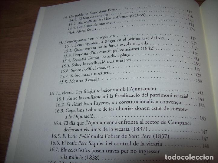 Libros de segunda mano: BÚGER EN EL SEGLE XIX. JOAN PONS. AJUNTAMENT DE BURGOS.LLEONARD MUNTANER. 1ª EDICIÓ 2012 . MALLORCA. - Foto 23 - 127686951